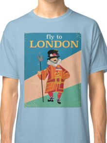 See England Tower of london beefeater. Classic T-Shirt
