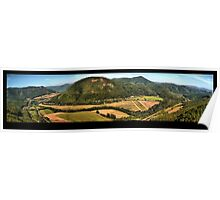 Scenery of hills Poster