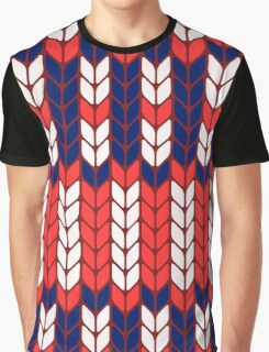 Funny knitted pattern Graphic T-Shirt