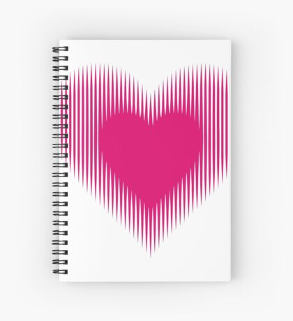 My Heart Beats For You Spiral Notebook