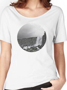 Öxarárfoss Women's Relaxed Fit T-Shirt
