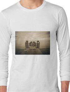 Towards Ireland, Aberystwyth Long Sleeve T-Shirt
