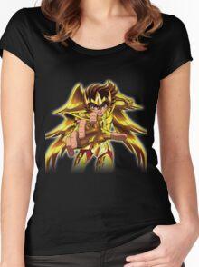 saint seiya Women's Fitted Scoop T-Shirt