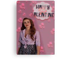 Happy Valentine [Lydia] Metal Print