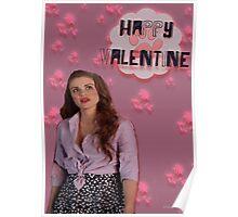 Happy Valentine [Lydia] Poster