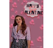Happy Valentine [Lydia] Photographic Print