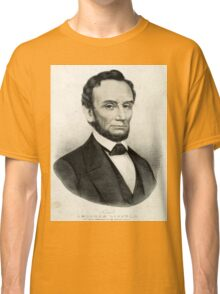 Abraham Lincoln - Sixteenth President of the United States - 1865 Classic T-Shirt