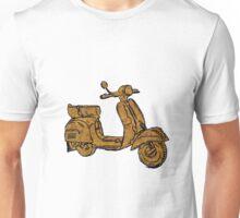 Rusty Vespa Scooter Piaggio Unisex T-Shirt