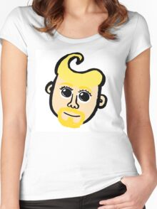 Blond Women's Fitted Scoop T-Shirt