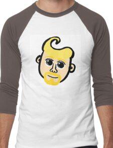 Blond Men's Baseball ¾ T-Shirt