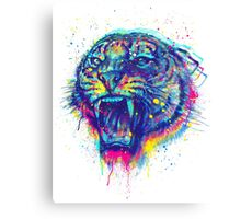kiss of the tiger Canvas Print