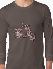 Vespa Piaggio Bajaj Scooter rosy Long Sleeve T-Shirt