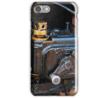 Steam train engine detail iPhone Case/Skin