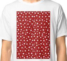 Red Polkadot Classic T-Shirt