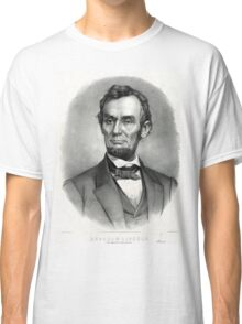 Abraham Lincoln The martyr president - assassinated April 14th 1865 - 1865 Classic T-Shirt