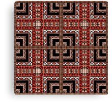 Decorative Geometric Ornate Abstract Pattern Canvas Print