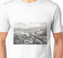 Across the continent, Westward the course of empire takes its way - 1868 Unisex T-Shirt