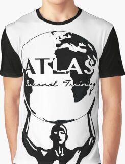 Atlas Personal Training Merchandise Main Design Graphic T-Shirt