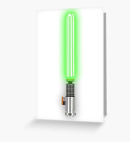 Star Wars - Luke's Light 'Saver' Greeting Card