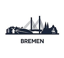 Bremen, dark Photographic Print