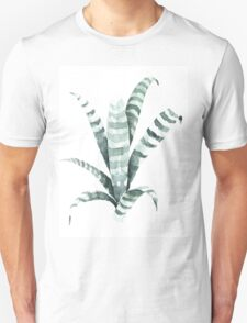 Tiger Plant Watercolor Painting T-Shirt