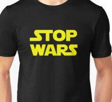 Stop wars (yellow)  Unisex T-Shirt