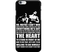 Rocky Quote 2 iPhone Case/Skin