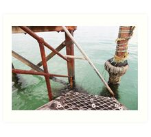 Jetty Angles Art Print