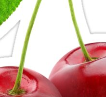 Two sweet cherries Sticker