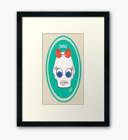 "Meet Skully from ""The Nomadics"" Framed Print"