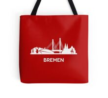 Bremen, white Tote Bag
