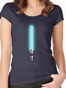Star Wars - Anakin's Light 'Saver' Women's Fitted Scoop T-Shirt
