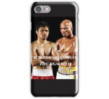 pacman vs bradley iPhone Case/Skin
