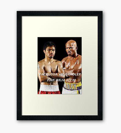 pacman vs bradley Framed Print