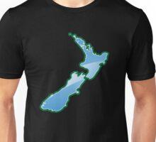 NEW ZEALAND trendy map island Unisex T-Shirt