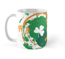 Cool Lucky Clover - Ink Background  Mug