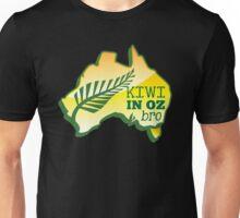 KIWI in OZ BRO! (Australia) Aussie map Unisex T-Shirt