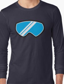 Winter SNOW Goggles  Long Sleeve T-Shirt