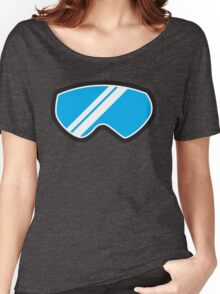 Winter SNOW Goggles  Women's Relaxed Fit T-Shirt