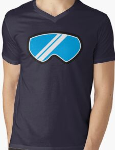 Winter SNOW Goggles  Mens V-Neck T-Shirt