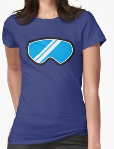 Winter SNOW Goggles  Womens Fitted T-Shirt