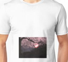 Red Sunset Unisex T-Shirt