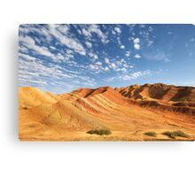 The Sweeping Paintbrush of Nature Canvas Print