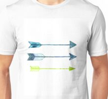 Arrows watercolor art print Unisex T-Shirt
