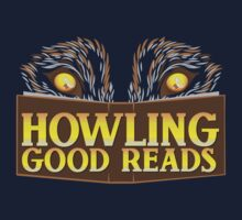 Howling good reads bookstore logo The Others reading series fan art Kids Tee