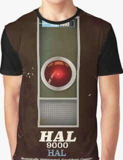 HAL 9000 Vintage magazine advertisment Graphic T-Shirt