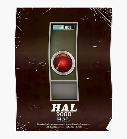 HAL 9000 Vintage magazine advertisment Poster
