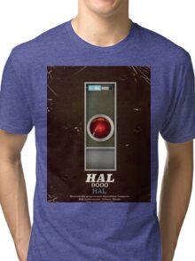 HAL 9000 Vintage magazine advertisment Tri-blend T-Shirt