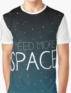 I need more space on starfield Graphic T-Shirt