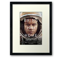 Bring Him Home Framed Print